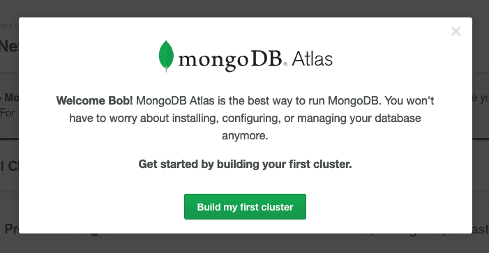 Build your first MongoDB cluster